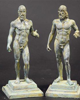 Riace bronze statues