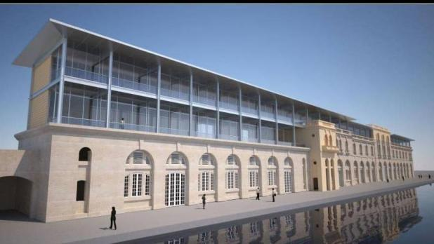 An impression of how the Cospicua campus will look like.