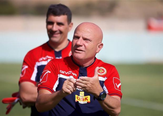 Malta coach Ray Farrugia named his provisional list for the UEFA Nations League qualifiers. Photo: Paul Zammit Cutajar