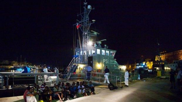Another group of 80 migrants land in Malta on August 20.