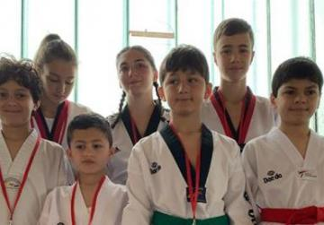 Young martial artists compete in international competition