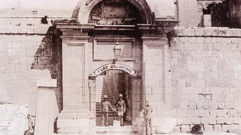 Fort Salvatore in Kalkara, where Nerik Mizzi was interned in 1940.