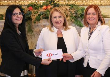 HSBC donates €18,000 to President's Trust job initiative for vulnerable youngsters