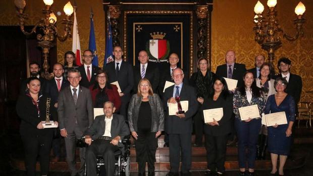 Ġorġ tal-Mużew gets lifetime award for his voluntary work