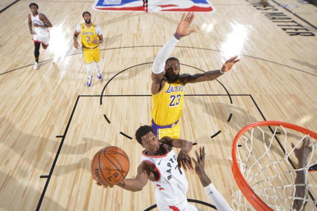 Watch: Lowry sparks Raptors over Lakers as NBA contenders duel