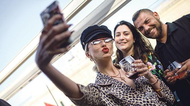 Sarah Zerafa, Anna Marie Galea and Gateano Busuttil.