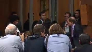 Watch: Democrats fume as Senate panel sets vote on Trump's court pick