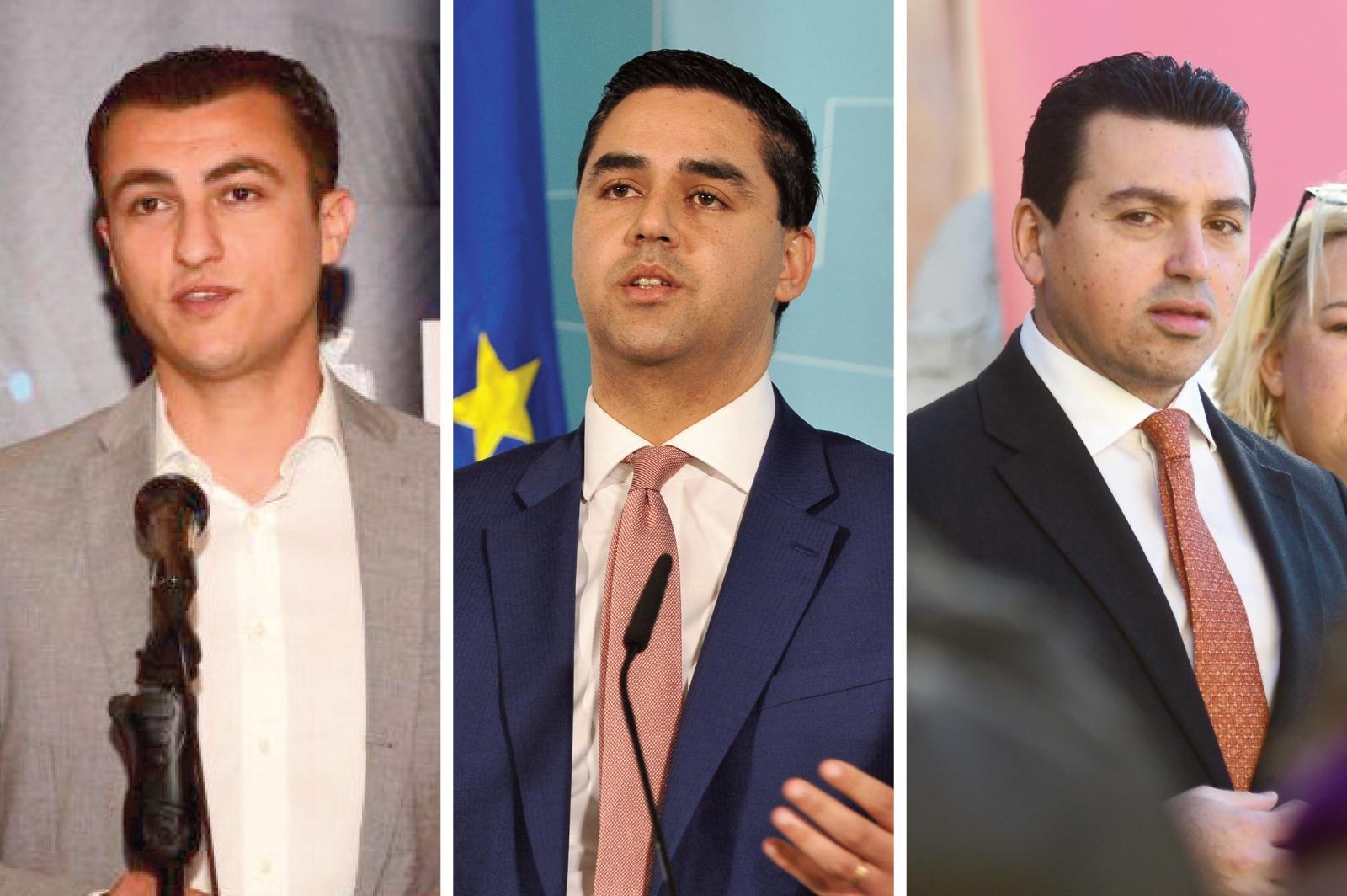 Ian Borg, Aaron Farrugia and Silvio Schembri are tasked with three large portfolios.