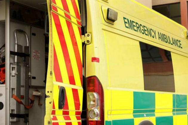 Man suffers grievous injuries in traffic collision