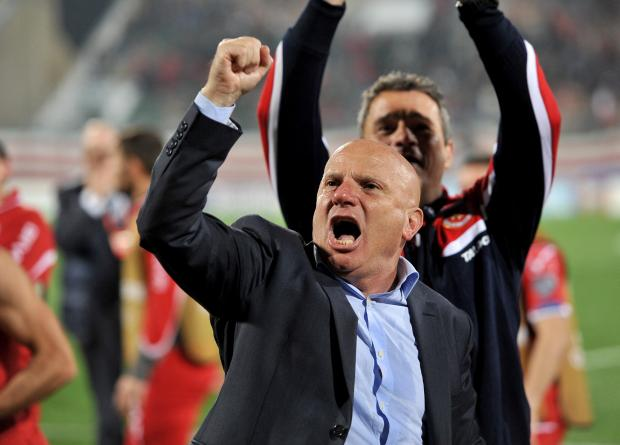 Malta's coach Ray Farrugia had urged supporters to keep the faith. Photo: Chris Sant Fournier