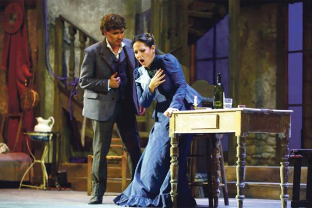 La Bohème, a timeless, gripping story of love and lovers' tiffs
