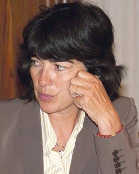 Christiane Amanpour. Photo: Albert H. Teich/Shutterstock.com
