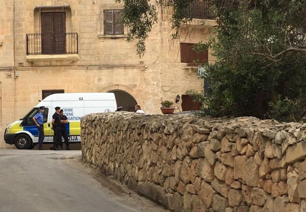 The murder took place in one of Għargħur's quietest streets. Photo: Matthew Mirabelli