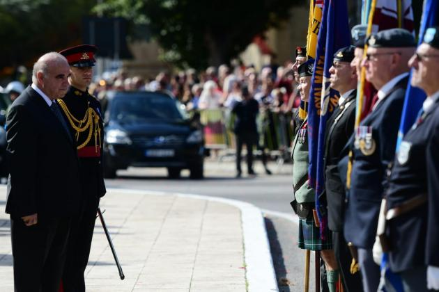 Malta salutes the war dead in Poppy Day commemoration