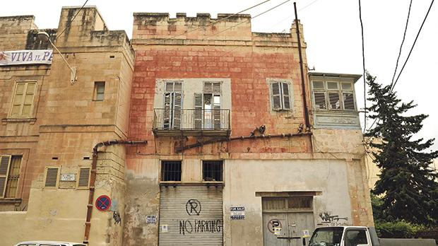 The illegal demolition of a wing of Villa Ignatius in St Julian's resulted in dangers.