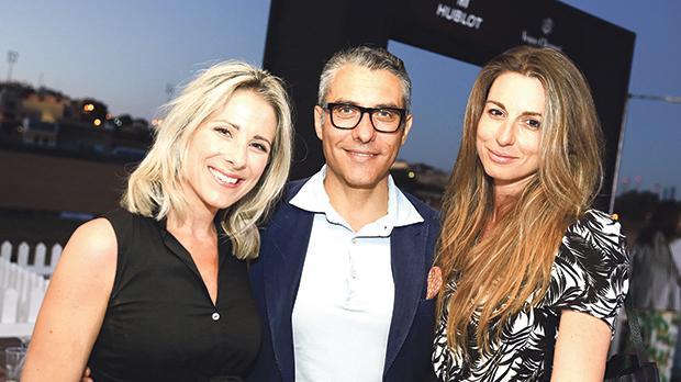 Justine Pergola, Augusto Capitanucci and Annabel Grima
