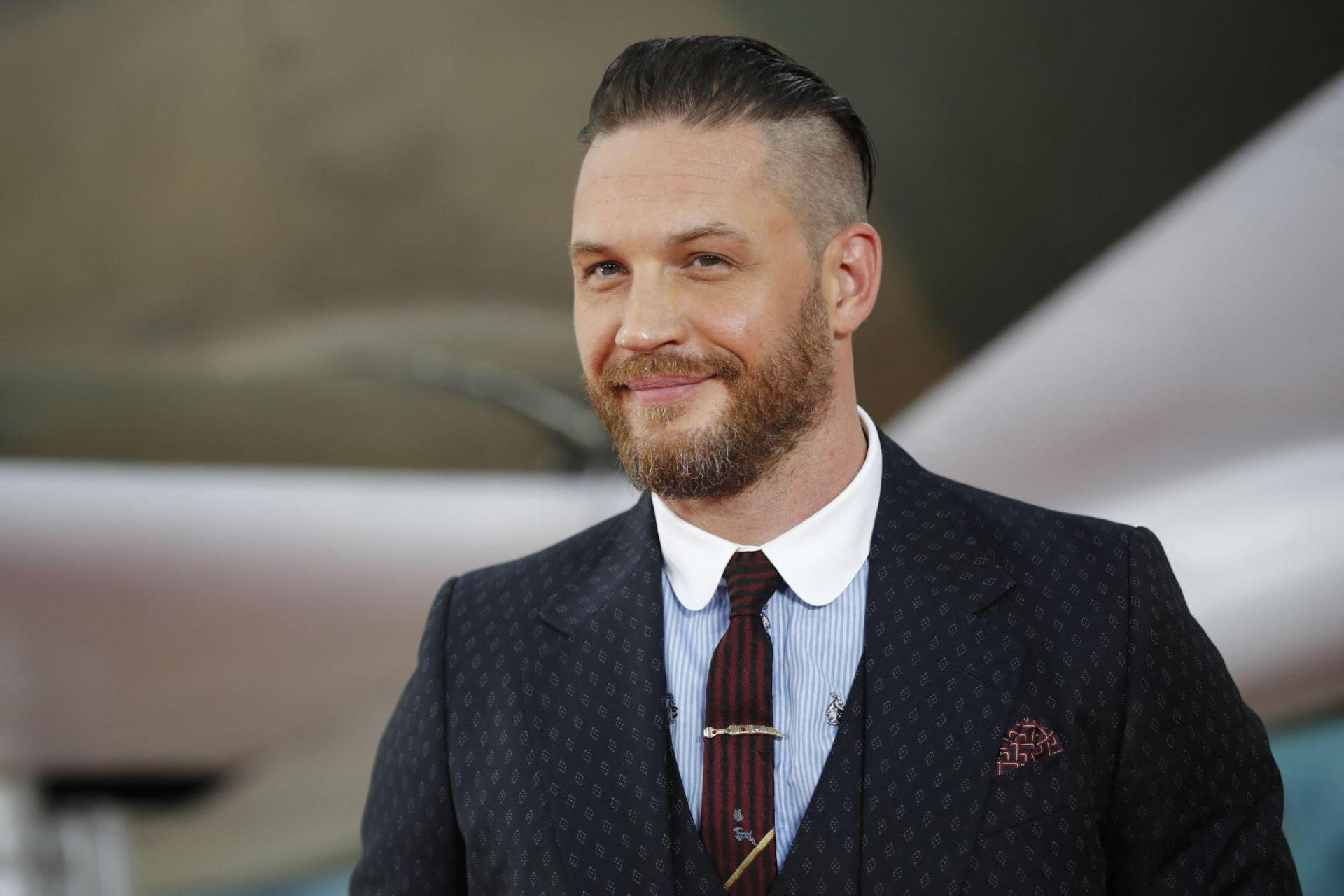 British actor Tom Hardy is one of the candidates to be the new James Bond. Photo: Tolga Akmen/AFP