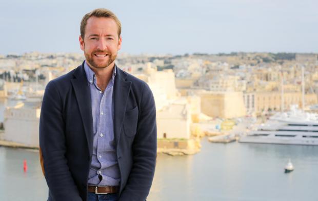 Bleisure Malta's Stephen Pace.