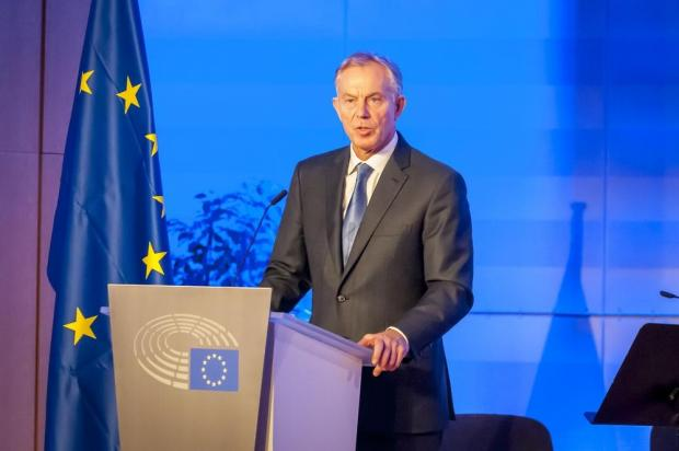 Tony Blair put Britain at the centre of Europe, before becoming enamoured with Bush's America. Photo: Shutterstock