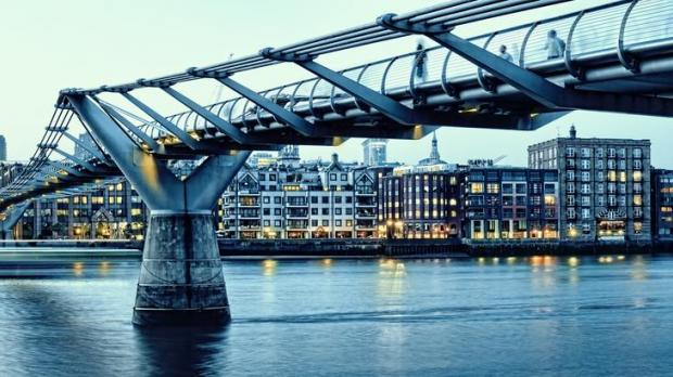 Dr Xuereb pointed to London's Millennium Bridge as an example. Photo: Shutterstock