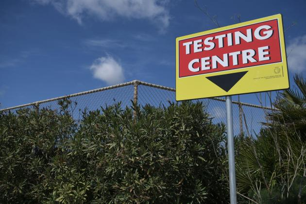 Coronavirus testing centre worker tests positive