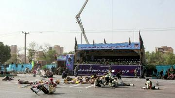 Gunmen kill 24, including 12 guards, in attack on Iran military parade | Video: AFP