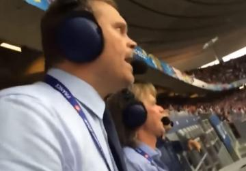 WATCH: Icelandic commentator does it again