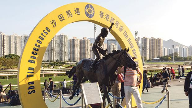 Sha Tin Racecourse is one of the two racecourses for horse-racing in Hong Kong. It is located in Sha Tin in the New Territories and is managed by Hong Kong Jockey Club. Photos: Shutterstock