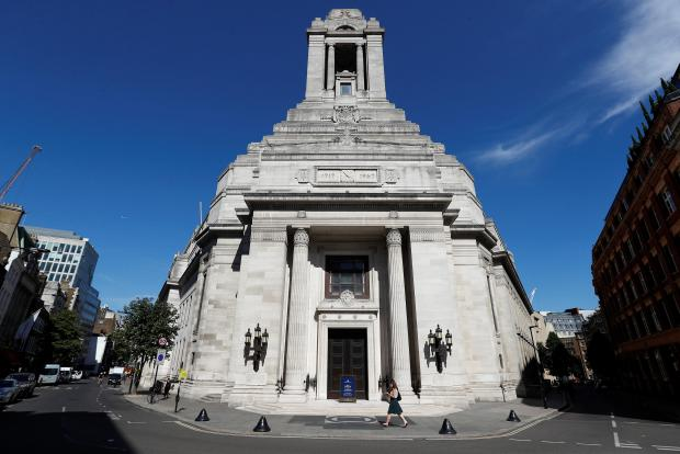 The Freemasons' Hall in London. Photo: Reuters