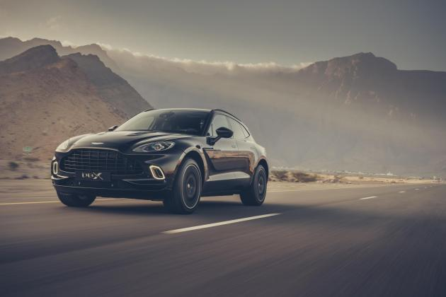 More versions of Aston Martin's DBX SUV on the way