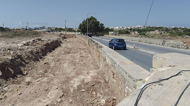 The Tal-Balal road project aims to alleviate traffic around Mater Dei Hospital and the university for vehicles approaching from San Ġwann and Naxxar. Photo: Matthew Mirabelli