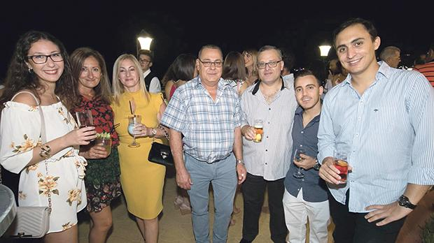 Lisa Cini, Joanna Bajada, Natalie Meilak, Mario Vella, Chris Azzopardi, Francesco Barbara and Miguel Calleja.