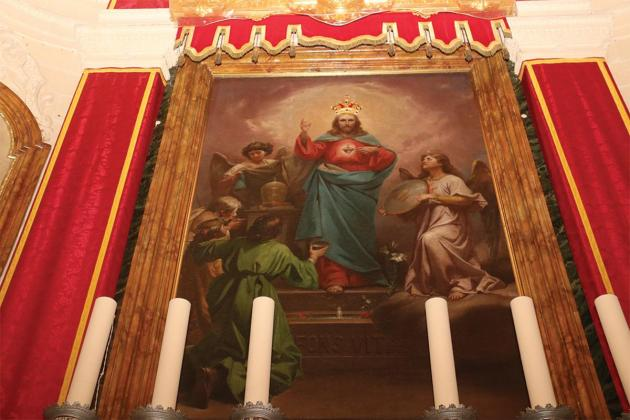 Fontana to mark the first Friday dedicated to Sacred Heart of Jesus