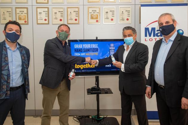 Maltco to distribute 50,000 free hand sanitisers to customers