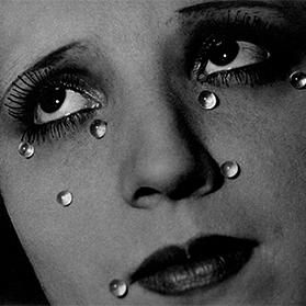 Glass Tears, by Man Ray