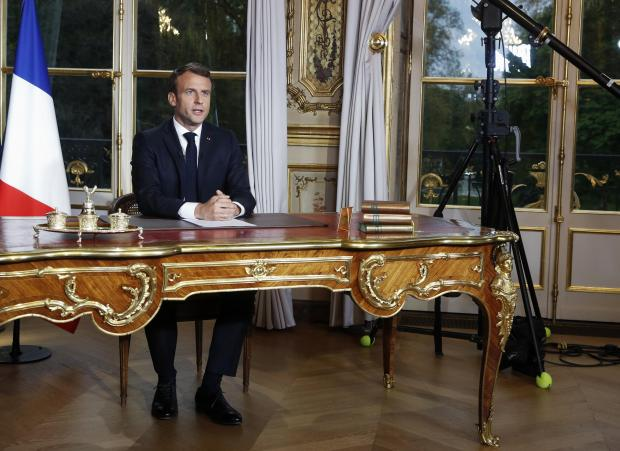 We will always have trials to overcome, Macron said.