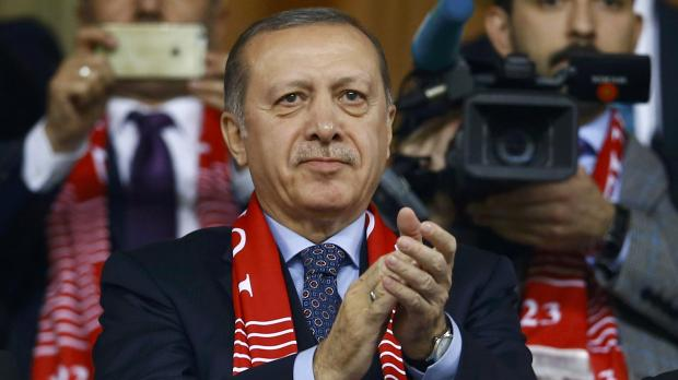 Erdogan has vowed to review all ties between Turkey and the EU. Photo: Reuters
