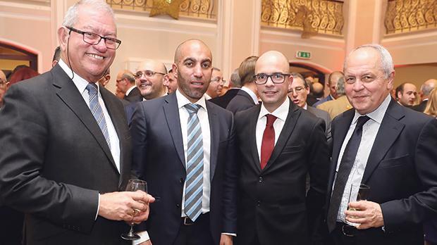 Nazzareno Vassallo, Pio Vassallo, Kevin Rapinett and John Bonello.
