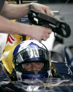 Coulthard, retired when on P7