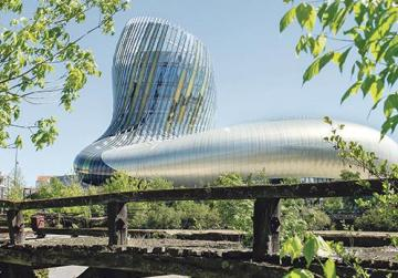 La Cité du Vin – the recently-opened museum shaped like a decanter.