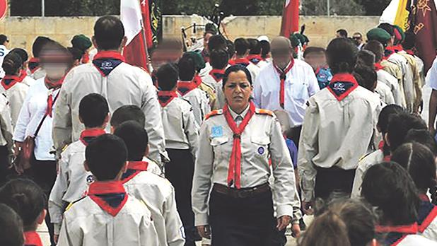 Forming part of the 1st Cospicua Scout Group gives mother-of-two Catherine Dato the feeling she's doing something beneficial for others.