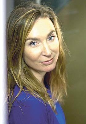 Writer Cecile Calvet
