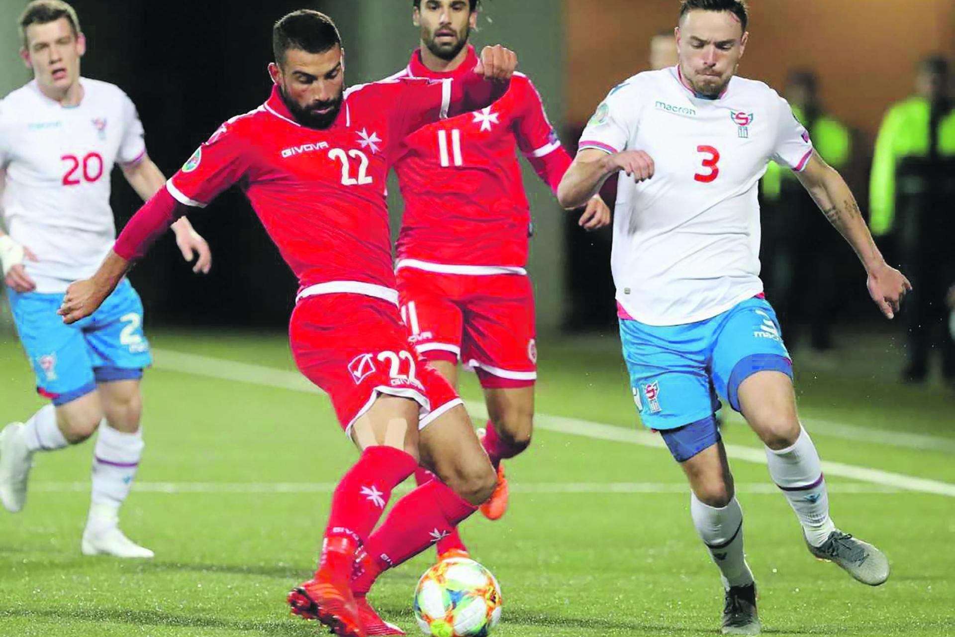 Baldvinsson punishes sterile Malta
