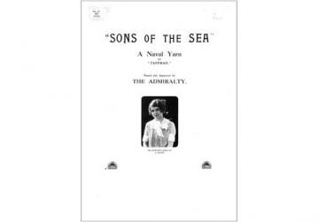The original poster for Sons of the Sea.