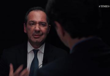 Mario de Marco opens up on Times Talk