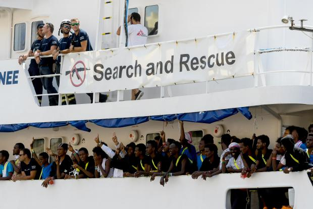 The MV Aquarius, and the 141 migrants aboard, disembarked in Malta in August