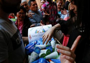 Pope marks his name day with free ice cream for poor