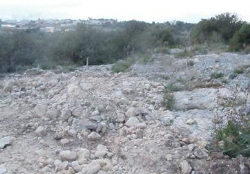 A construction site amid the dense natural vegetation of an ODZ area in Bidnija, courtesy of the Rural Policy and Design Guidance rules that neither the Labour Party nor the Nationalist Party want to change, so either way, Malta's ODZ areas are effectively doomed.