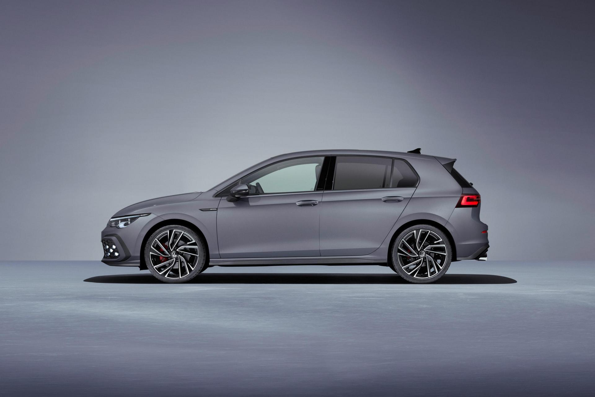 The diesel-powered GTD gets 197bhp and a focus on long-distance efficiency. (VW)