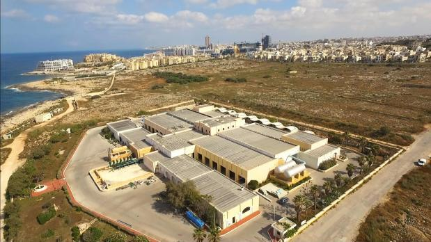 Water from the Pembrokle RO plant will be blended with groundwater at the Ta'Qali reservoirs.